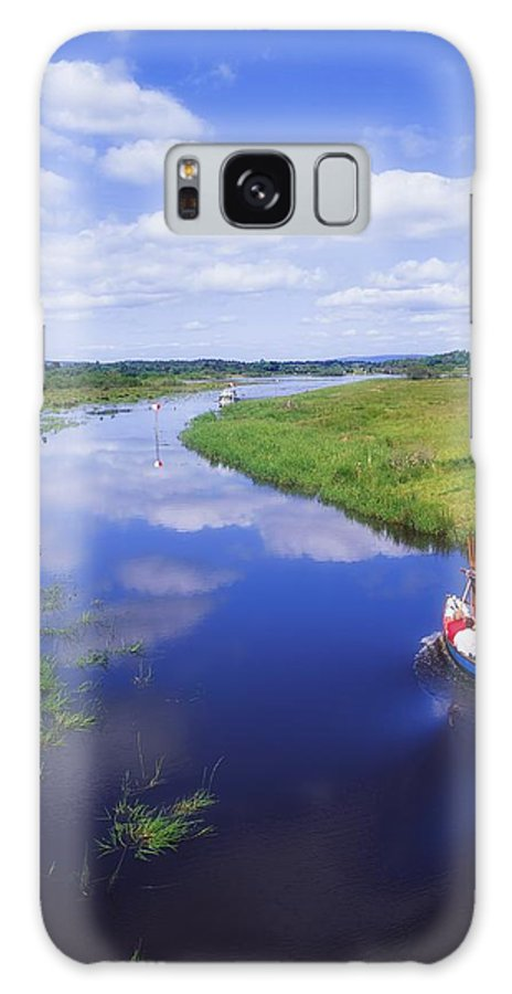 Ballinamore Ballyconnell Canal Galaxy S8 Case featuring the photograph Shannon-erne Waterway by The Irish Image Collection