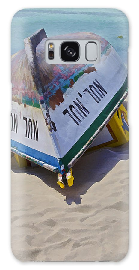 Aruba Galaxy S8 Case featuring the photograph Shipwrecked by David Letts