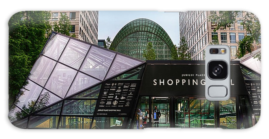 Active Galaxy S8 Case featuring the photograph Shopping Mall by Svetlana Sewell
