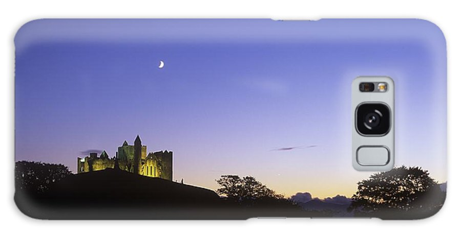 Architecture Galaxy S8 Case featuring the photograph Silhouette Of A Castle On The Cliff Of by The Irish Image Collection
