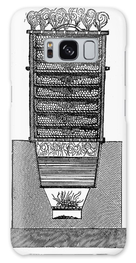 19th Century Galaxy S8 Case featuring the photograph Silk Production by Granger