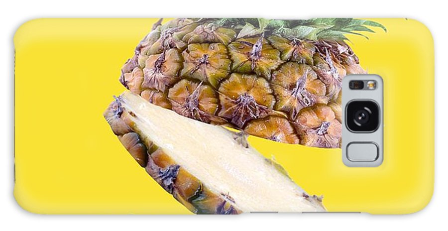 Ananas Comosus Galaxy S8 Case featuring the photograph Sliced Pineapple by Victor Habbick Visions