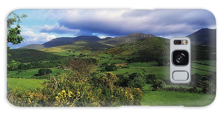 Co. Down Galaxy S8 Case featuring the photograph Slieve Bearnagh, Mourne Mountains, Co by The Irish Image Collection