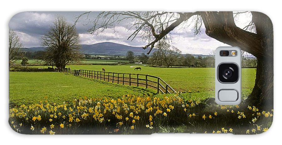 Ardsallagh Galaxy S8 Case featuring the photograph Slievenamon, Ardsallagh, Co Tipperary by The Irish Image Collection