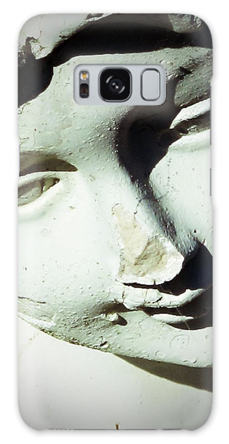 Statue Galaxy S8 Case featuring the photograph Smile On Her Face by Michele Nelson