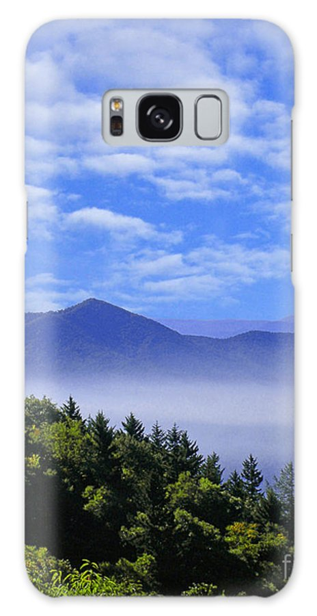 Mountains Galaxy S8 Case featuring the digital art Smoky Mountains by Lizi Beard-Ward