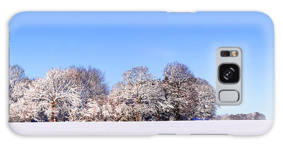 Snow Galaxy S8 Case featuring the photograph Snow Panoramic Landscape by Richard Thomas
