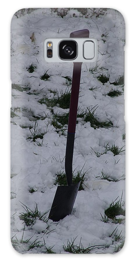 Snow Galaxy S8 Case featuring the photograph Snow Spade by Ashok Patel