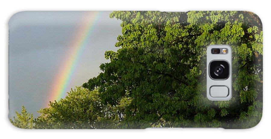 Rainbow Photograph Galaxy S8 Case featuring the photograph Somewhere Over The Rainbow by Lingfai Leung