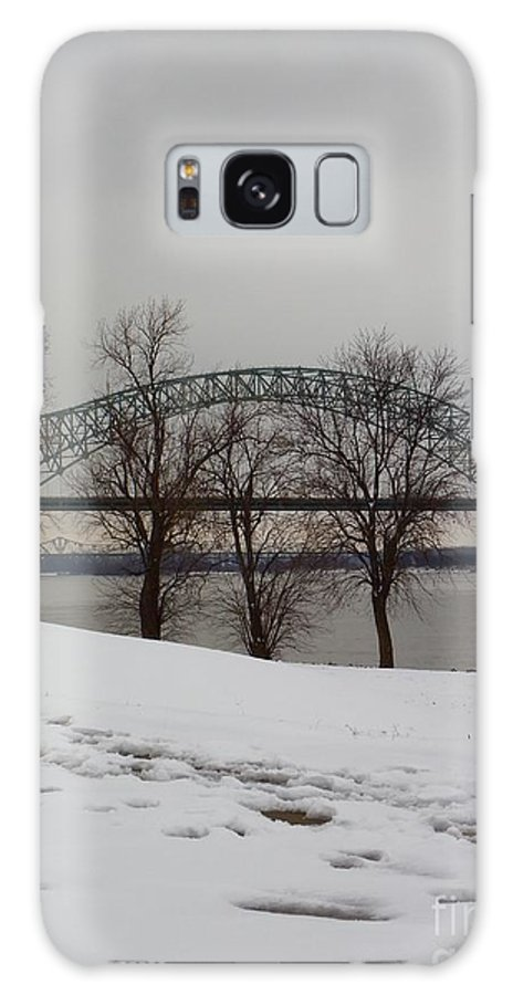 Bridge Galaxy S8 Case featuring the photograph Southern Snow by Charleen Treasures