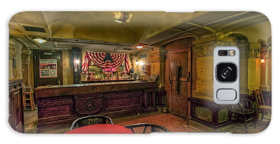 Bar Galaxy S8 Case featuring the photograph Speakeasy Club -- Butte Montana by Daniel Hagerman