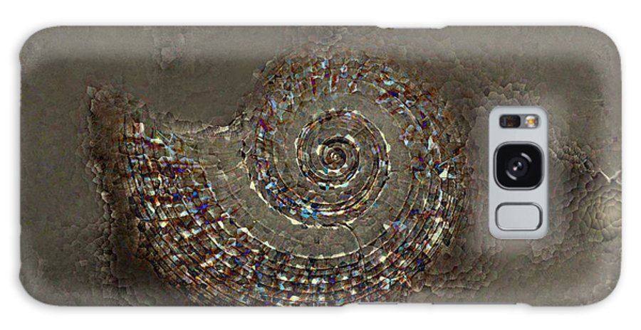 Spiral Textures Galaxy S8 Case featuring the photograph Spiral Textures by Linda Sannuti