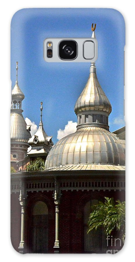 Moorish Galaxy S8 Case featuring the photograph Spires by Carol Bradley