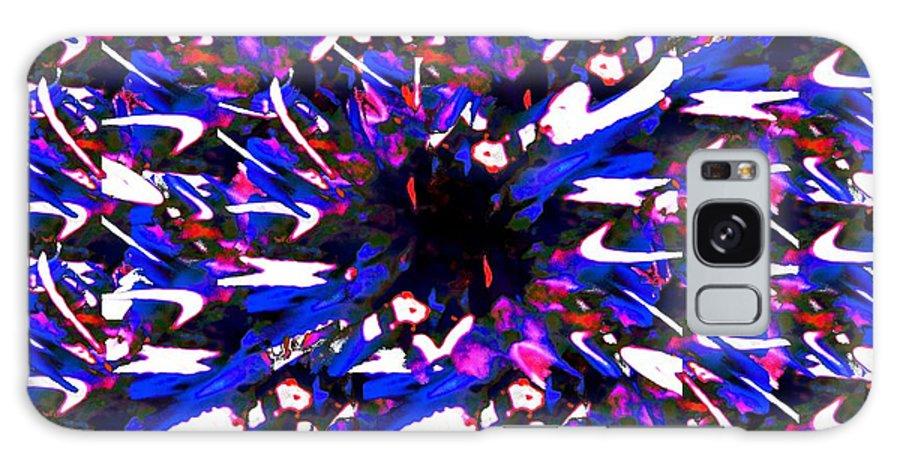 Splat Galaxy S8 Case featuring the digital art Splat 2 by Tim Allen