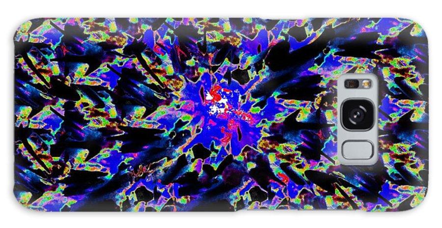 Splat Galaxy S8 Case featuring the digital art Splat 5 by Tim Allen