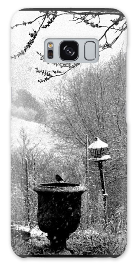 Landscape Galaxy S8 Case featuring the photograph Spring Snowstorm 2012 by Susanne Still