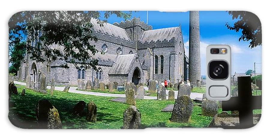 Architectural Heritage Galaxy S8 Case featuring the photograph St Canices Cathedral &, Round Tower by The Irish Image Collection