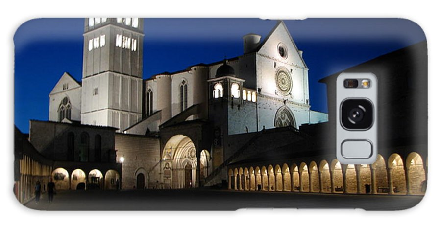 Italy Galaxy S8 Case featuring the photograph St. Francis Basilica by T Guy Spencer