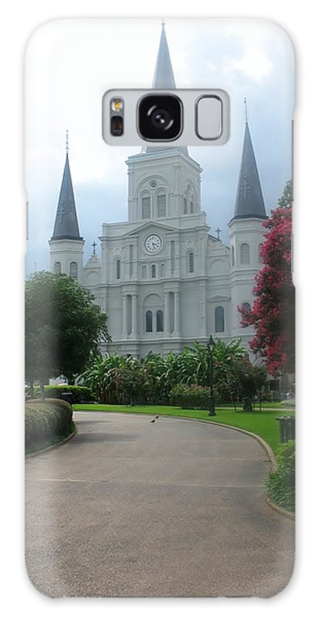 St. Louis Cathedral Galaxy S8 Case featuring the photograph St. Louis Cathedral Ll by Phebe Smith