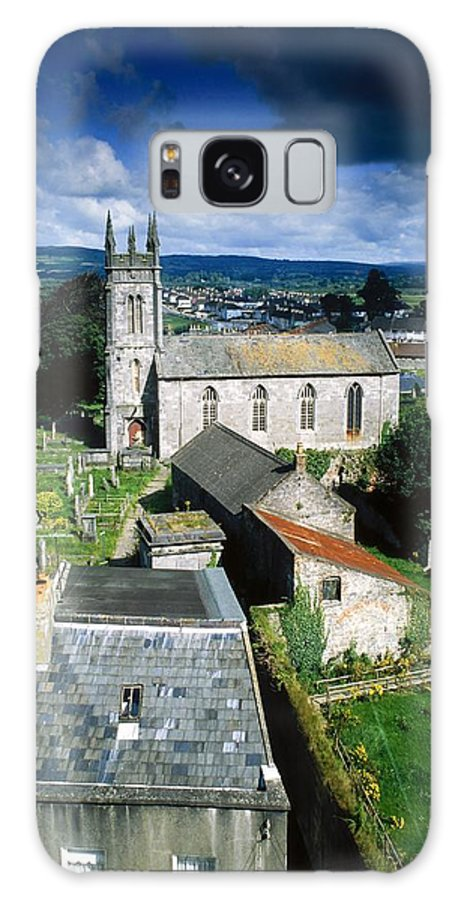 Cemetery Galaxy S8 Case featuring the photograph St Marys Cathedral, Co Limerick, Ireland by The Irish Image Collection