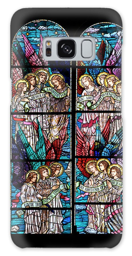 Glass Art Galaxy S8 Case featuring the digital art Stained Glass Pc 05 by Thomas Woolworth