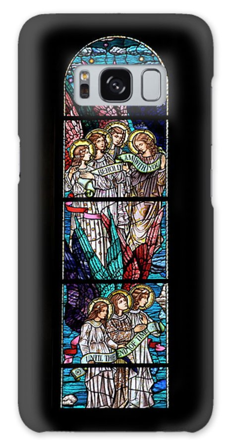 Glass Art Galaxy S8 Case featuring the digital art Stained Glass Pc 06 by Thomas Woolworth