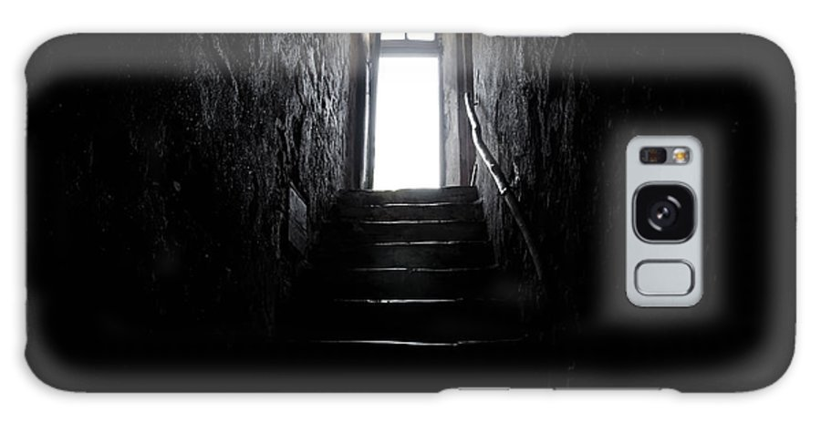 Stairs Galaxy S8 Case featuring the photograph Stairs To The Light by Mats Silvan