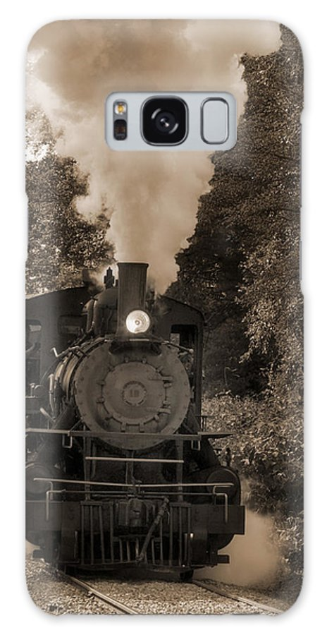 Steam Galaxy S8 Case featuring the photograph Steam Engine by Cindy Haggerty