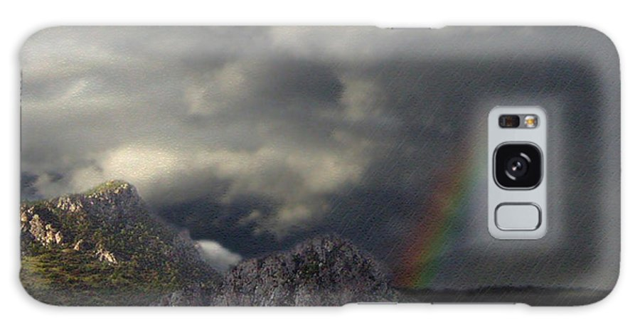 Mountain Galaxy S8 Case featuring the photograph Storm Canvas by Elizabeth Hart