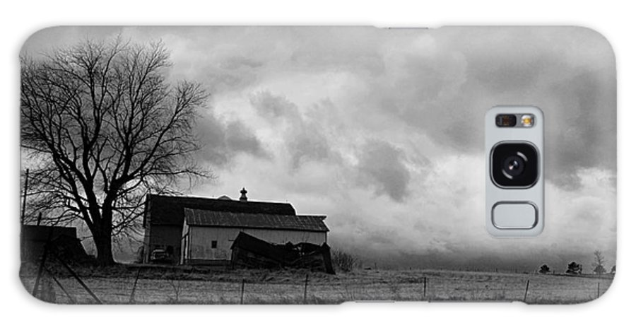Photography Galaxy S8 Case featuring the photograph Stormy Day On The Farm by Larry Ricker