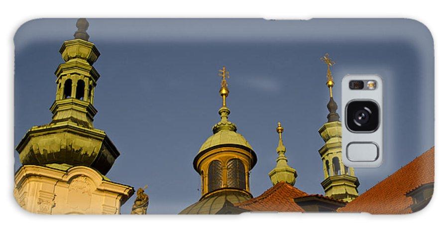 Strahov Monastery Galaxy S8 Case featuring the photograph Strahov Monastery - Prague Czech Republic by Jon Berghoff