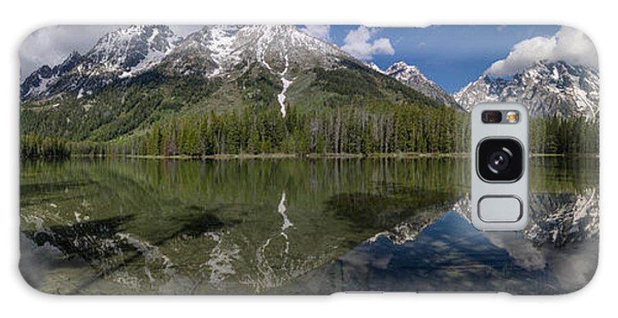 String Lake Galaxy S8 Case featuring the photograph String Lake Panorama by Greg Nyquist