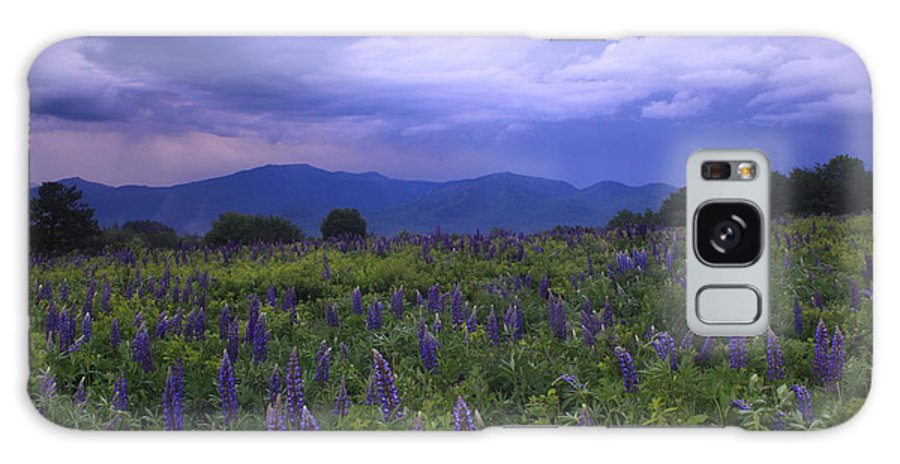 Thunderstorm Galaxy S8 Case featuring the photograph Sugar Hill Lupines Thunderstorm Clearing by John Burk