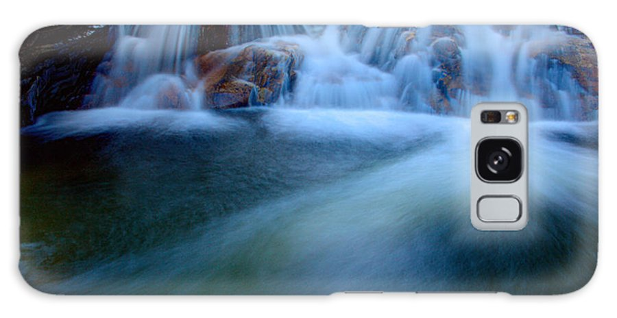 Outdoor Galaxy S8 Case featuring the photograph Summer Cascade by Chad Dutson
