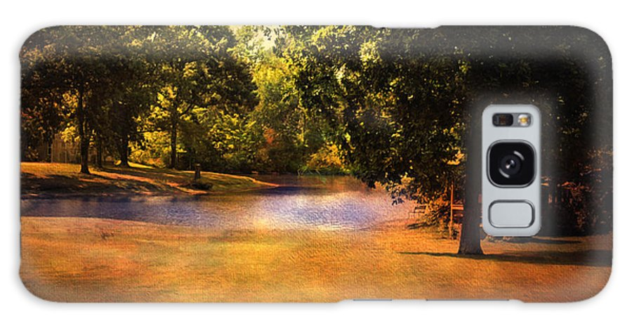 Beautiful Landscape Galaxy S8 Case featuring the photograph Summer Pond by Jai Johnson