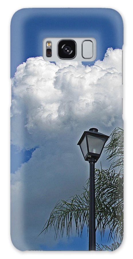 Sky Galaxy S8 Case featuring the photograph Summer Sky Vertical by T Guy Spencer