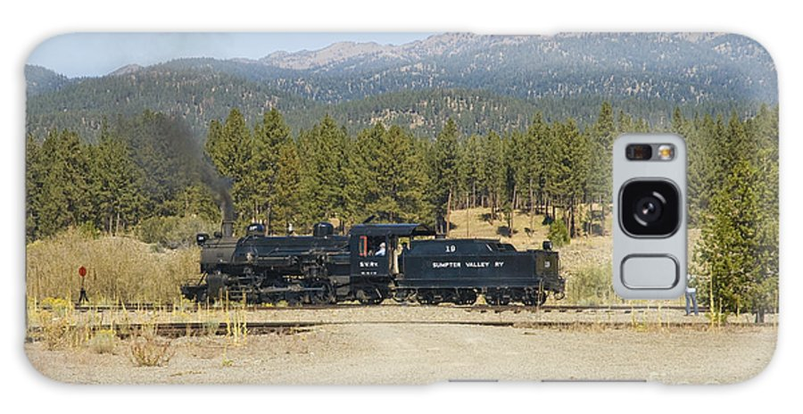 Narrow Gauge Galaxy S8 Case featuring the photograph Sumpter Valley Railroad by Tim Mulina