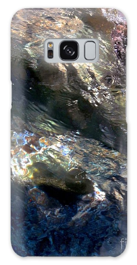 Water Galaxy S8 Case featuring the digital art Sun On Water by Dale  Ford