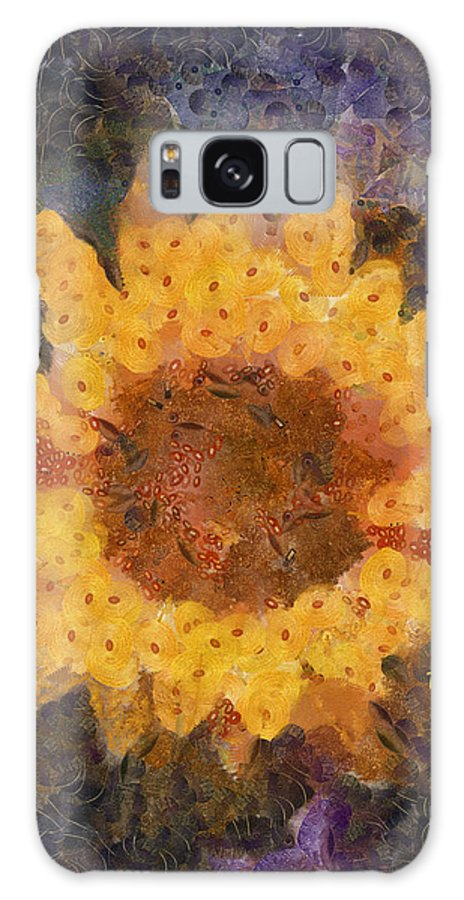 Flower Galaxy S8 Case featuring the photograph Sunflower Season by Trish Tritz