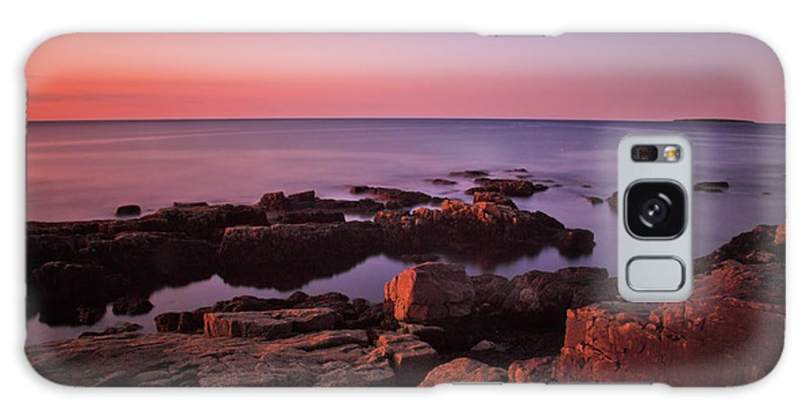 Dawn Galaxy S8 Case featuring the photograph Sunrise At Otter Point by Rick Berk