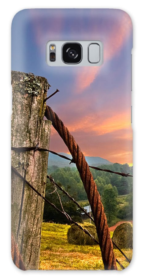 Andrews Galaxy S8 Case featuring the photograph Sunrise Lasso by Debra and Dave Vanderlaan