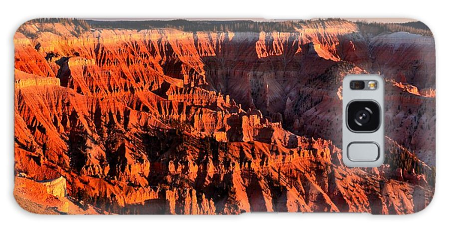 Cedar Breaks National Monument Galaxy S8 Case featuring the photograph Sunset At Cedar Breaks by Mark Bowmer