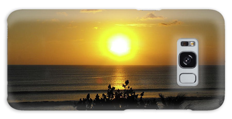 Sunset Galaxy S8 Case featuring the photograph Sunset At Kuta Beach by Marlene Challis