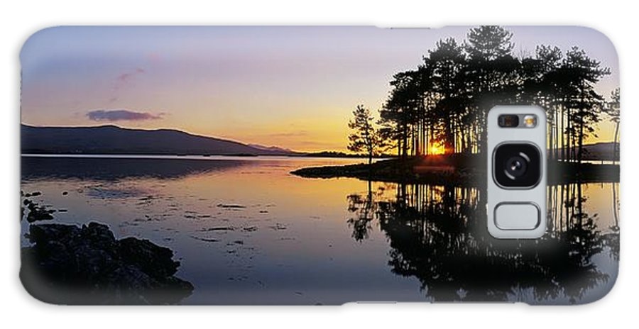 Color Image Galaxy S8 Case featuring the photograph Sunset At The Lake, Kenmare, Ring Of by The Irish Image Collection