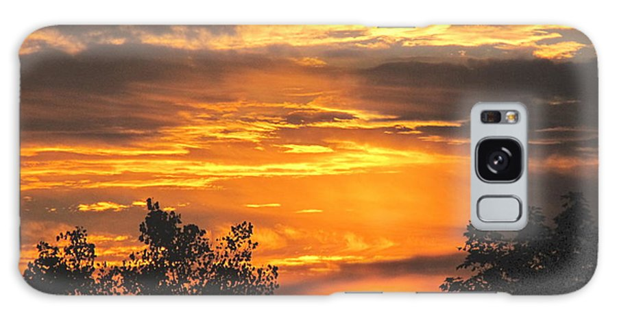 Sunset Galaxy S8 Case featuring the photograph Sunset by Jeannie Kohut