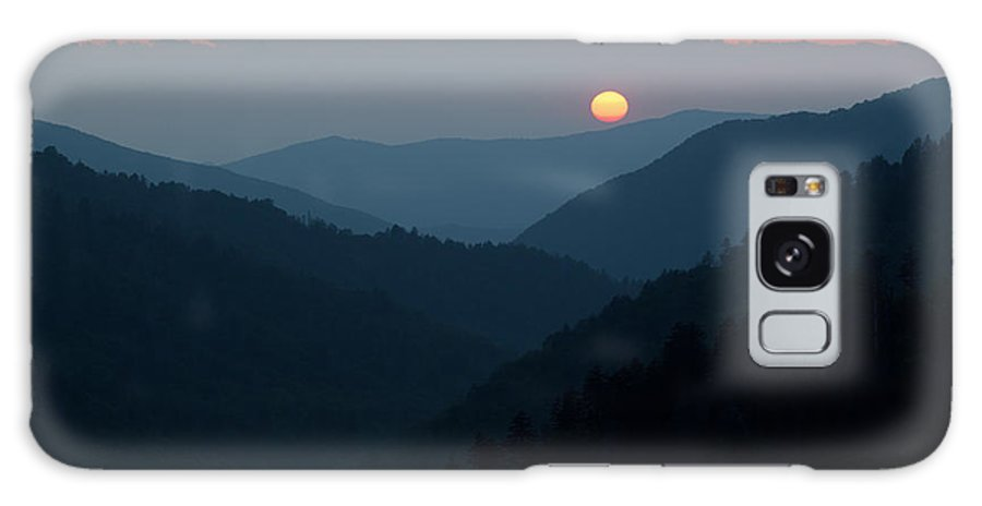 Beautiful Galaxy S8 Case featuring the photograph Sunset Morton Overlook by Dean Pennala