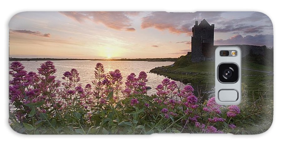 Castle Galaxy S8 Case featuring the photograph Sunset Over Dunguaire Castle, Kinvara by Gareth McCormack