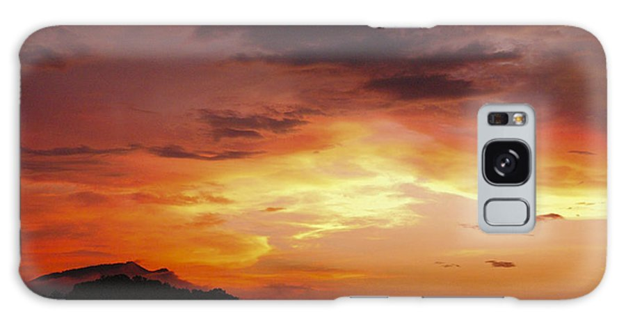 Sunset Galaxy S8 Case featuring the photograph Sunset Over Pigeon Forge by Katherine Tucker