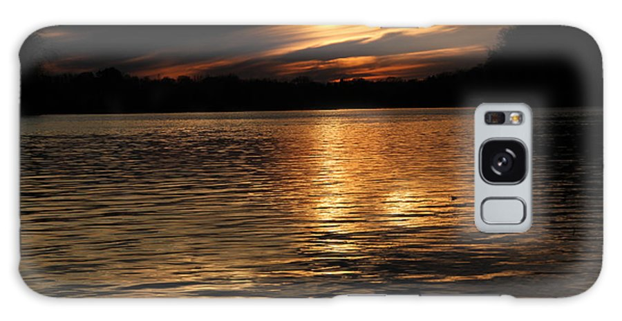 Tn Galaxy S8 Case featuring the photograph Sunset Over The Lake - 3rd Place Win by Ericamaxine Price