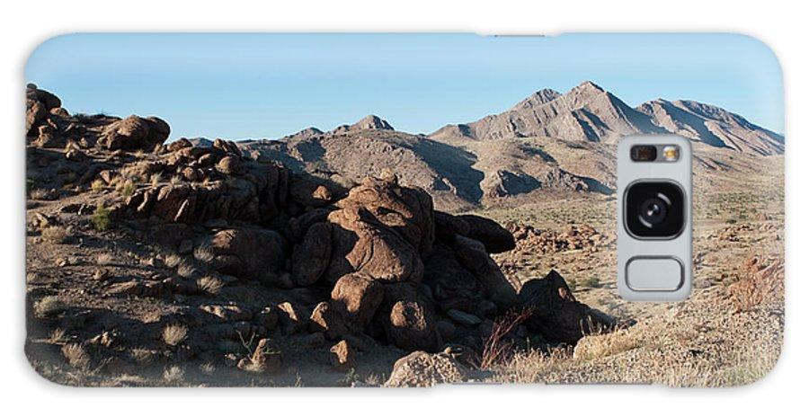 Gold Butte Region Galaxy S8 Case featuring the photograph Sunspot Hill by Lorraine Devon Wilke